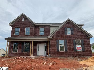 Easley Single Family Home For Sale: 612 N Meadows