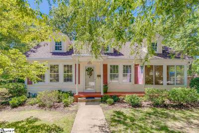 Greenville SC Single Family Home For Sale: $350,000