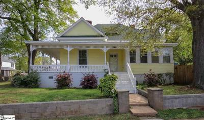 Greenville Single Family Home For Sale: 1 Mission