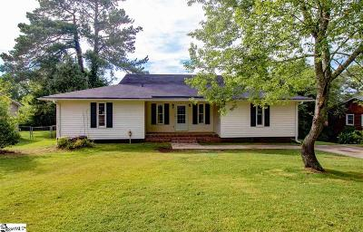 Travelers Rest Single Family Home For Sale: 7 Rawood