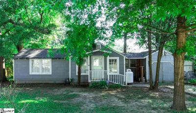 Greenville Single Family Home For Sale: 4 W Wilburn
