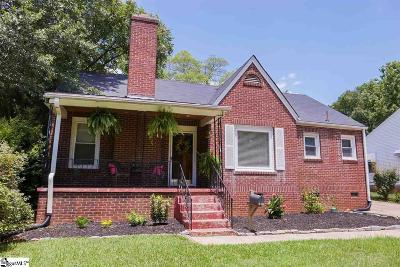 Greenville Single Family Home For Sale: 309 E Blue Ridge