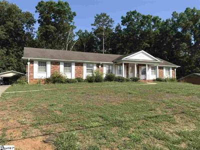 Greenville Single Family Home For Sale: 105 S Folkshire