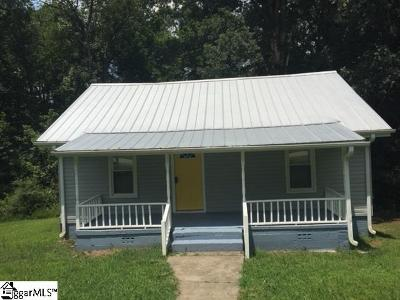 Travelers Rest Single Family Home For Sale: 206 Mill
