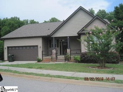 Greenville County Single Family Home For Sale: 512 Chartwell