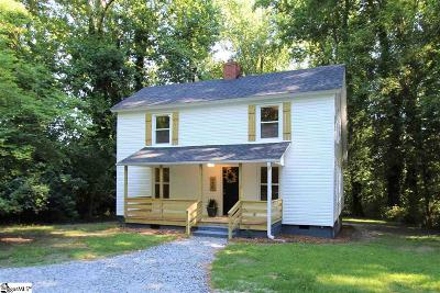 Inman Single Family Home Contingency Contract: 170 Blue Ridge