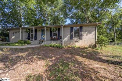 Greer Single Family Home For Sale: 618 Valley Creek