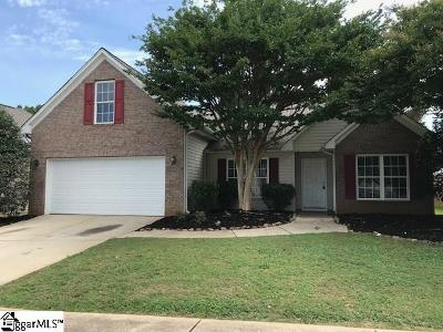 Greenville Single Family Home For Sale: 3 Orient