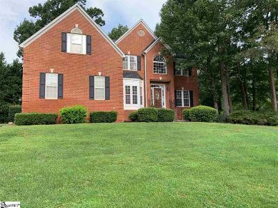 Simpsonville Single Family Home For Sale: 11 Ashbury