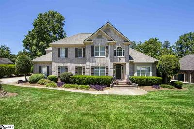 Greenville Single Family Home Contingency Contract: 201 Siena