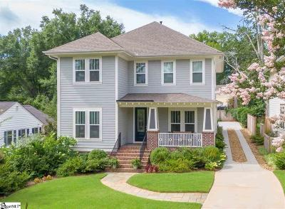 Greenville Single Family Home For Sale: 22 E Montclair