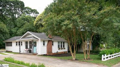 Greenville Single Family Home For Sale: 215 W Faris
