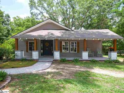 Easley Single Family Home For Sale: 502 Fleetwood