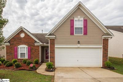 Greenville SC Single Family Home For Sale: $183,500