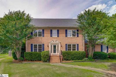Greenville County Single Family Home For Sale: 511 Sugar Valley