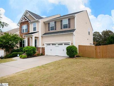 Greenville SC Single Family Home For Sale: $319,900