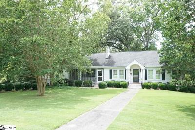Laurens Single Family Home Contingency Contract: 109 Barksdale