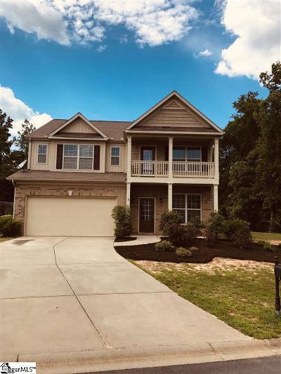 Fountain Inn Single Family Home For Sale: 430 Crest Hill