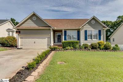 Fountain Inn Single Family Home Contingency Contract: 3 Frostberry