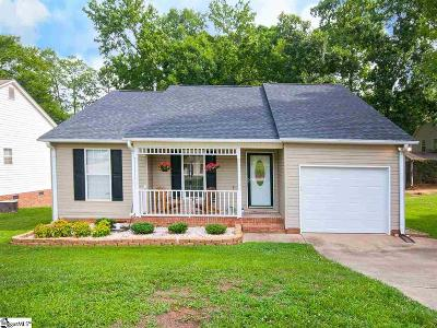 Simpsonville Single Family Home Contingency Contract: 204 Clear Lake