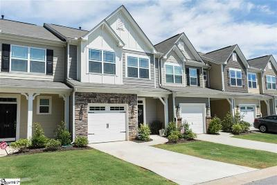 Simpsonville Condo/Townhouse For Sale: 702 Daisy Hill