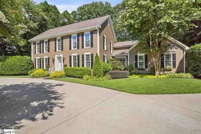 Greenville Single Family Home For Sale: 111 Barksdale Greene