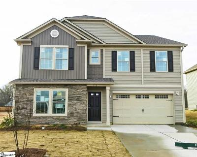 Fountain Inn Single Family Home For Sale: 115 Mitford #Lot 27