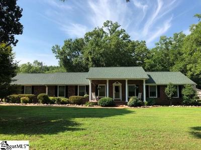 Anderson Single Family Home For Sale: 5016 McGill