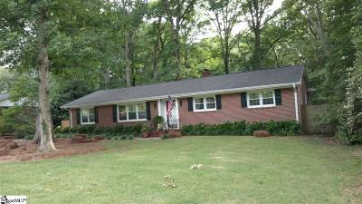 Spartanburg Single Family Home Contingency Contract: 120 Holly