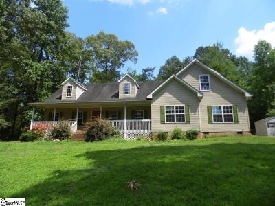Travelers Rest Single Family Home For Sale: 208 Valley