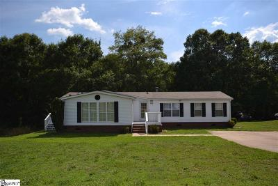 Greer Mobile Home For Sale: 119 Bridgecreek