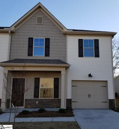 Mauldin Condo/Townhouse For Sale: 100 Double Branch