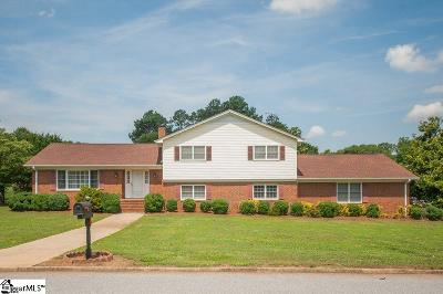 Greenville Single Family Home For Sale: 15 Ashburn