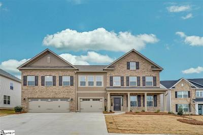 Simpsonville Single Family Home For Sale: 215 Gordanvale