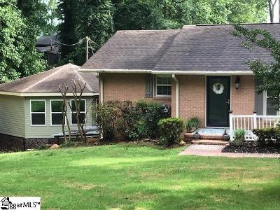 Anderson Single Family Home For Sale: 1010 Lakeside
