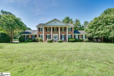 Spartanburg Single Family Home For Sale: 2641 Country Club