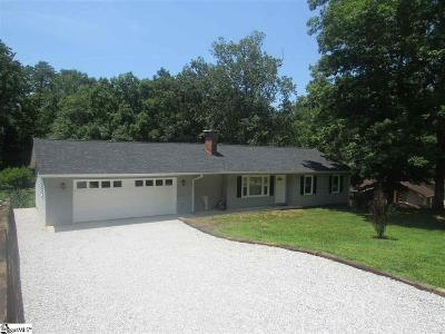 Travelers Rest Single Family Home For Sale: 17 West