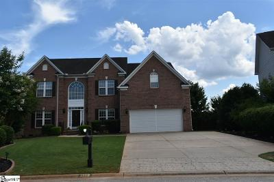 Greer Single Family Home For Sale: 1116 Carriage Park
