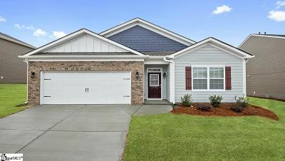 Simpsonville Single Family Home For Sale: 1102 Downing Bluff