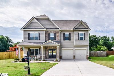 Simpsonville Single Family Home For Sale: 10 Wadmalaw
