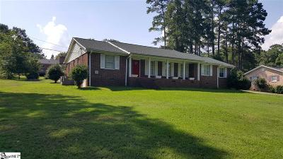 Laurens Single Family Home For Sale: 112 Pine
