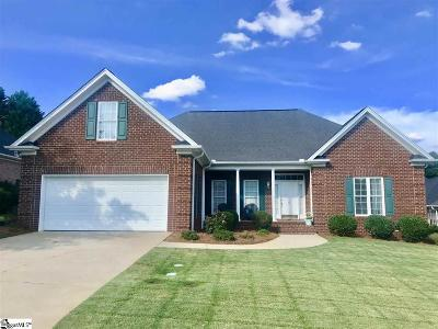 Greenville Single Family Home For Sale: 8 Audrey