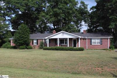 Pelzer Single Family Home For Sale: 119 Williams