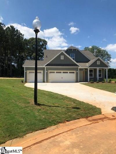 Piedmont Single Family Home For Sale: 313 Timberland