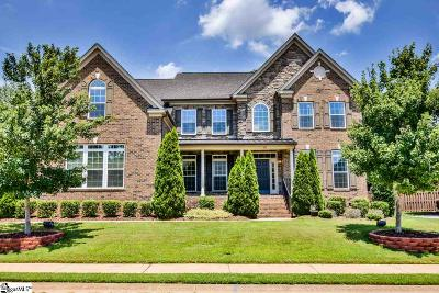 Simpsonville Single Family Home For Sale: 12 Clifton Grove