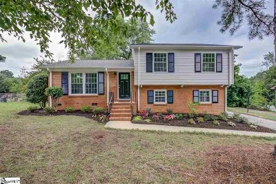 Spartanburg Single Family Home For Sale: 115 Heather