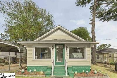 Greenville County Single Family Home For Sale: 106 Honour