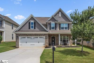 Simpsonville Single Family Home For Sale: 302 Cypress Hill