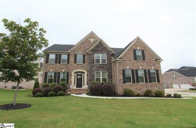 Simpsonville Single Family Home For Sale: 401 Pawleys