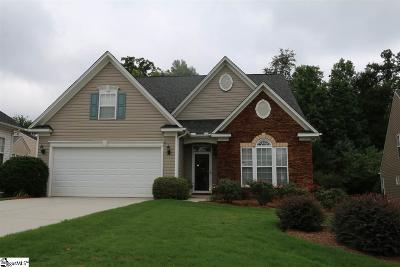 Simpsonville Single Family Home Contingency Contract: 105 Bedfordton